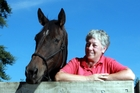 DEVOTED: Ros Rowe with 'Danny Boy' - one of the trust's