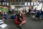 FRESH: New principal of Tauranga Primary, Fiona Hawes, has new ideas for the school. PHOTO/JOHN BORREN 120514JB04BOP