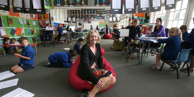 FRESH: New principal of Tauranga Primary, Fiona Hawes, has new ideas for the school. PHOTO/JOHN BORREN 120514JB04BOP