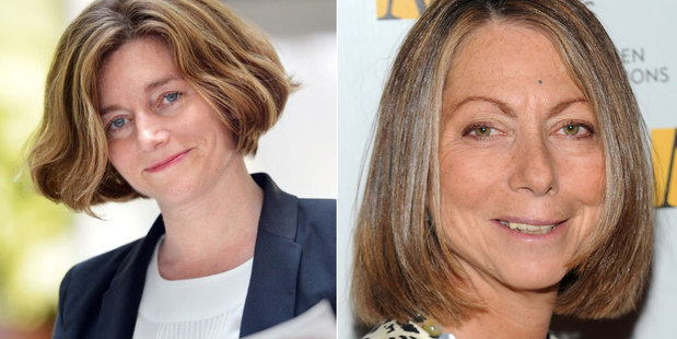 Natalie Nougayrede, left, and Jill Abramson, right, have left their positions as editors of their respective papers. Photo / AFP, AP