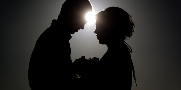 WEDDINGS: The number of marriages has dropped.PHOTO/FILE