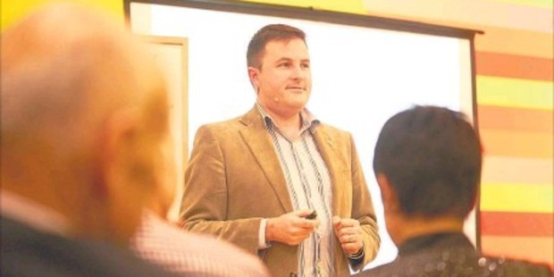 INNOVATOR: Professor Shaun Hendy in Tauranga welcoming local moves to connect up entrepreneurs.