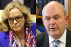Judith Collins, Steven Joyce and Winston Peters. Photos / NZ Herald