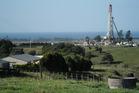 The drilling site at Tikorangi. File photo / Paul Charman