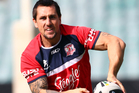 Sydney Roosters NRL halfback Mitchell Pearce has been arrested after an early morning incident outside a Kings Cross nightclub. Photo / Getty Images.