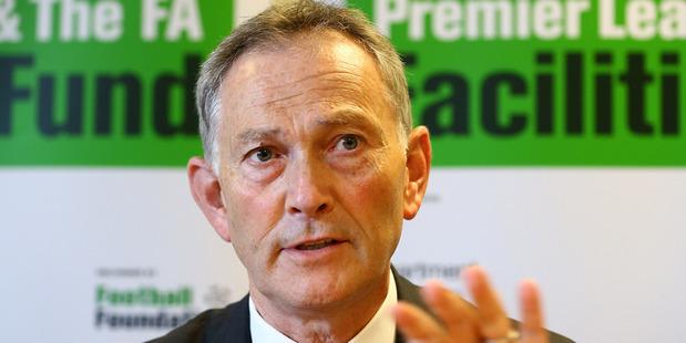 English Premier League chief executive  Richard Scudamore. Photo / Getty Images