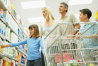 What food goes in the trolley defines the health of your family. Photo / Thinsktock