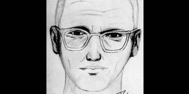 A police sketch of the Zodiac Killer. Photo / Creative Commons
