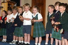 TUNE: Ponatahi Christian School give a number for the audience.PHOTOS/LYNDA FERINGA