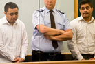 Joel Lo and John Adams appeared at the Auckland High Court. Photo / Greg Bowker