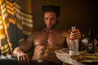 Hugh Jackman is still brimming with enthusiasm for his impressively sideburned alter ego. Photo / AP