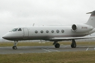 Sir Peter Jackson's $80m G650 Gulfstream jet. Photo / BOP Times