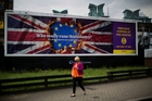 Britain's UK Independence Partys billboards carry stark and some say xenophobic messages. Photo / AP