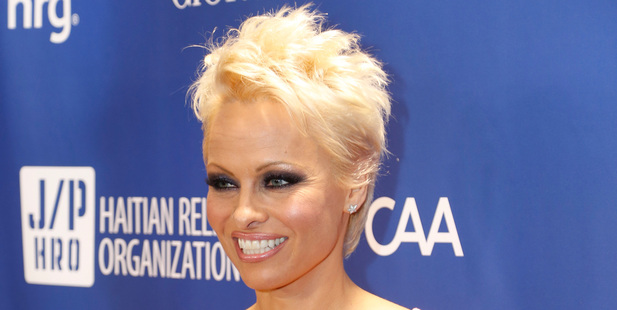 Pamela Anderson's mother was shocked by the stars sexual abuse revelations. Photo/AP.
