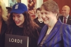 Watch as Lorde visits Helen Clark at the UN headquarters in New York. Photo courtesy of YouTube/United Nations Development Programme.