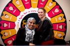 Mehpara Khan, left, with her supervisor Georgie Hackett, says having religious minority employers and employees requires a