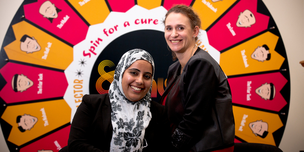 "Mehpara Khan, left, with her supervisor Georgie Hackett, says having religious minority employers and employees requires a ""two-way thing"" to produce a positive workplace outcome. Photo / Dean Purcell"