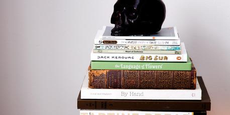 Book collection. Photo / Babiche Martens.