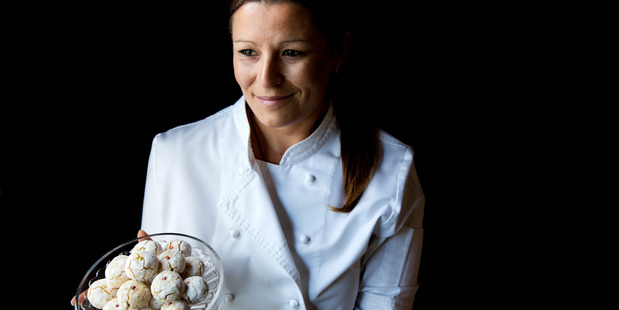 Chef and pastry chef Yasmin Hill from Amaretti Kitchen. Photo / Babiche Martens.