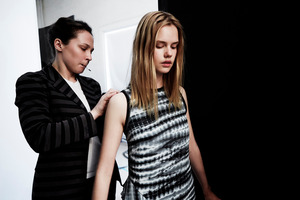 """Proenza Schouler models are often defined as having an """"undone"""" style and this natural beauty is carried forward to the makeup range. Photo / Supplied."""