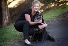 Vet Megan Alderson is planning a funeral for her dog Sydney. Photo / Doug Sherring