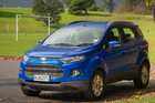 The EcoSport is 241mm higher than the Fiesta it is based on, plus has more headroom and nearly 50mm more boot space than the hatch. Pictures / Ted Baghurst