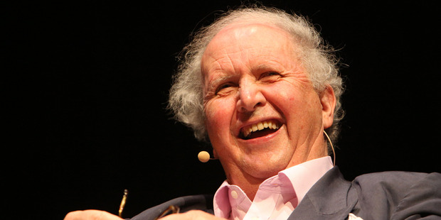 Alexander McCall-Smith at the Auckland Writers Festival. Photo / supplied / Marcel Tromp