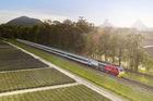 The new Spirit of Queensland rail service runs between Brisbane and Cairns.