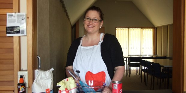 Rachel Jenkinson's charity has 850 volunteer bakers. Photo / APN