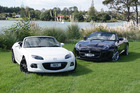 At less than half the price of the Jaguar F-Type V6, the Mazda MX-5 is great value for a sports car. Pictures / David Linklater