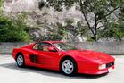 Amazingly low mileage will boost interest in this 1988 Ferrari Testarossa.