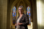 Helen Jacobi doesn't mind those down on their luck who hang around her inner-city church but draws the line at cleaning up any mess. Photo / Greg Bowker