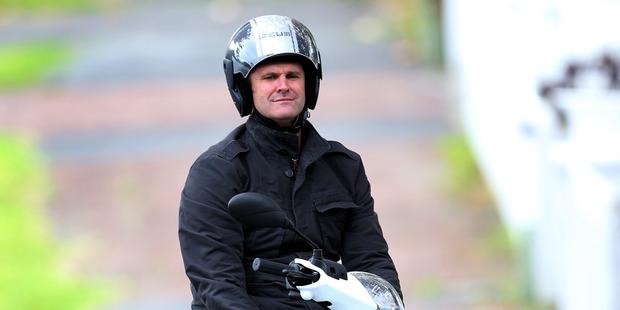 Cricketer Chris Cairns in Herne Bay. Photo / New Zealand Herald / Jason Oxenham