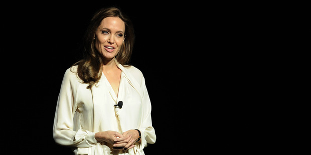 Angelina Jolie had both breasts removed last year after discovering she had an 87 per cent chance of contracting cancer. Photo / AP