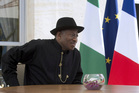 Nigerian President Goodluck Jonathan. Photo / AP
