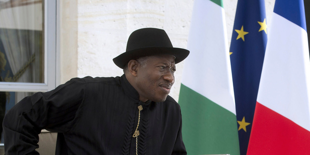 Nigerian President Goodluck Jonathan. Photo / AP