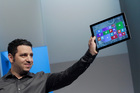 Panos Panay, Microsoft's vice president for surface computing, introduces the Surface Pro 3 tablet. Photo / AP