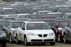 General Motors has announced another recall this week, including the Pontiac G6 models. Picture/AP