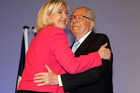 Oh dad. Jean-Marie Le Pen's comment that ebola could cure France's immigration problem is another outburst that will embarrass his daughter Marine. Photo / AP