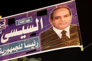 Former Defence Minister Abdel-Fattah el-Sissi.