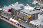 Completion of the $162.2 million ASB North Wharf is tipped to have boosted rental income. Photo / Richard Robinson