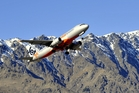 Queenstown Airport's alpine backdrop makes for spectacular take-offs and landings.