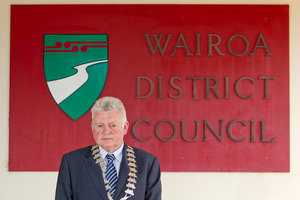 Wairoa Mayor Craig Little invited the attacked tourist to stay at his family farm for two nights. Photo / Glenn Taylor