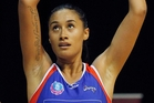 Maria Tutaia makes her 100th appearance on Monday when she captains the Mystics against the Fever in Auckland. Photo / Christine Cornege