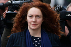 Rebekah Brooks outside the Central Criminal Court in London. Photo / AP.