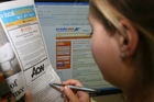 The number of job advertisements online and in newspapers rose 2.3 per cent last month. Photo / APN