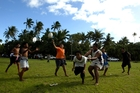 The All Blacks are guaranteed a warm welcome in Samoa. Photo / Dean Purcell