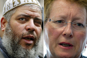 Kiwi Mary Quin testified at Abu Hamza's trial about what he told her of his involvement in her kidnapping in Yemen. Photo / AP, APN