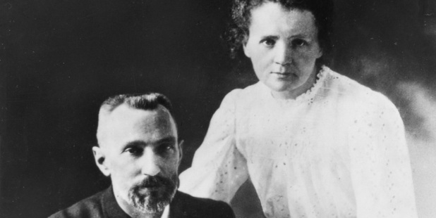 Marie and Pierre Curie. Photo / Creative Commons