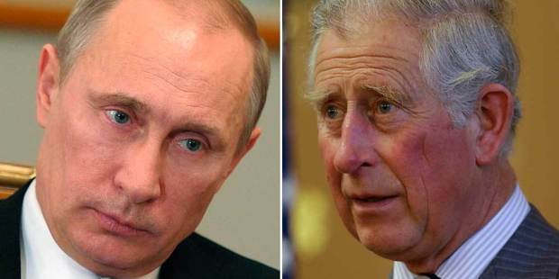 Vladimir Putin, left, has upset Prince Charles, but the Hitler comparison doesn't stand up. Photo / AP
